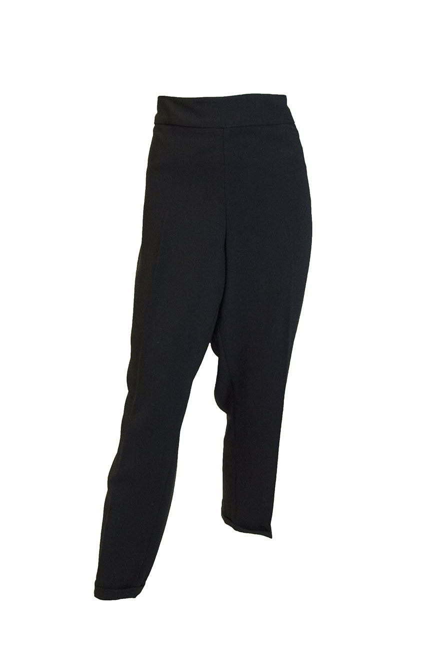 NYDJ Women's Black Trouser Pants
