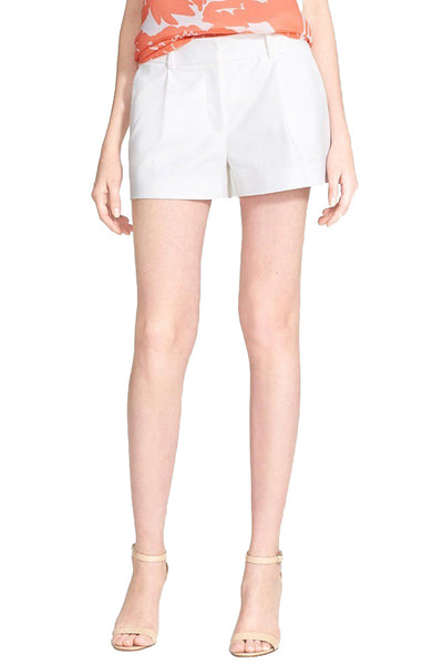 DVF White Naples Shorts