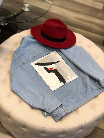 "One Posh Design ""Red Lips"" Jacket"