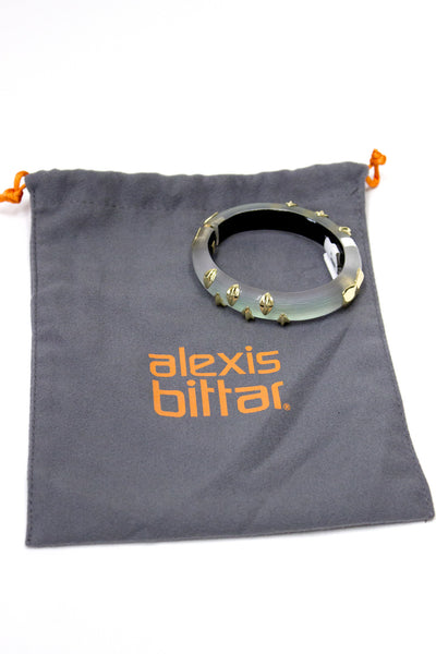 Alexis Bittar 'Lucite - Dust' Small Hinged Bracelet