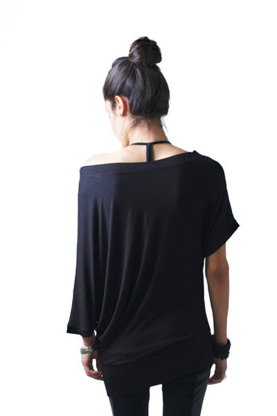 Marcellamoda Asymmetric Party Blouse