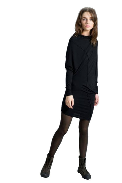 Marcellamoda Long Slouchy Tunic Dress