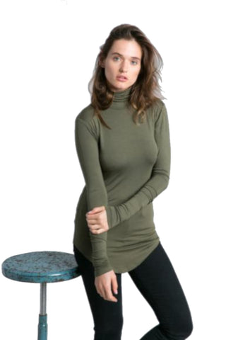 Marcellamoda Turtleneck Blouse