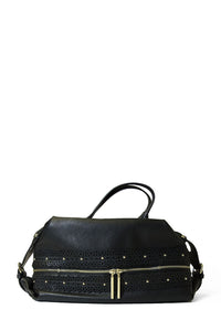 Catherine Malandrino Lace Detail Satchel