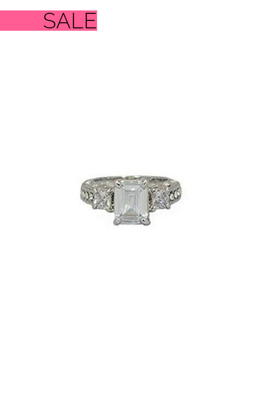 Everly Emerald Cut Ring