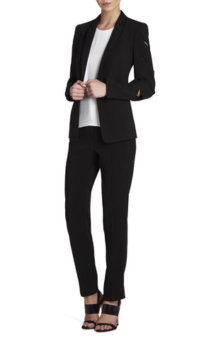 BCBGMaxazira 'Brent' Slash-Sleeve Black Blazer