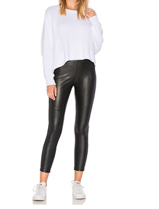 Free People Faux Vegan Leather Leggings