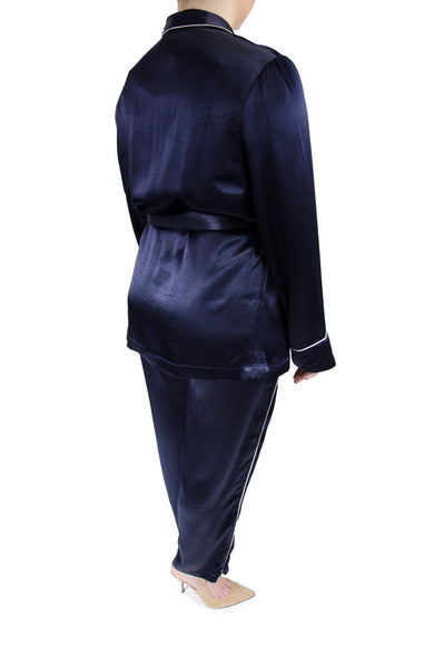 ASOS Navy Smoking Jacket and Pajama Pants