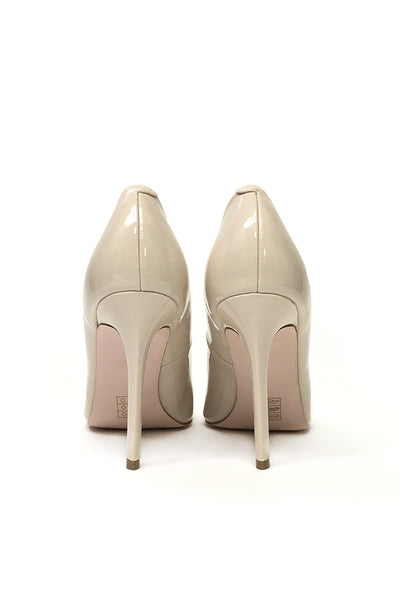 ASOS Playful Wide Fit Pointed Nude Heels