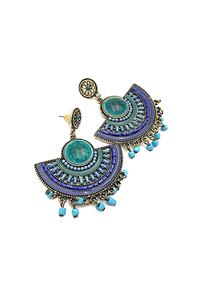 Aztec Statement Earrings