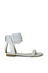"BCBGeneration White ""Braylin"" Sandals"