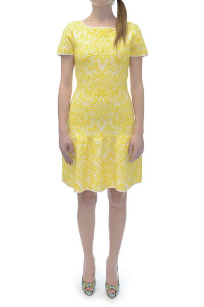 BCBG Maxazria Yellow Bambi Dress