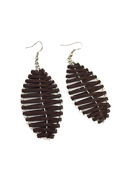 Leaf-Inspired Earrings