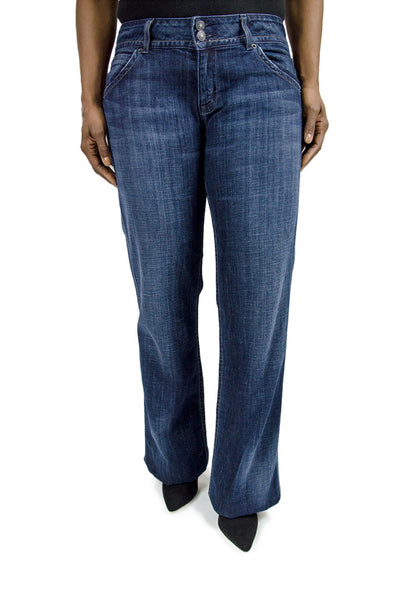 Hudson Flared Dark Denim