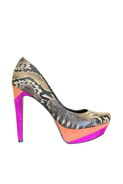 Jessica Simpson Beijo Dark Neutral Pumps