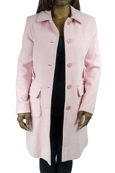 Moda International Pink Wool Coat