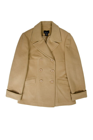 Moda International Tan Wool Coat