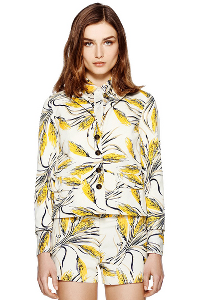 Tory Burch Rimon Printed Jacket