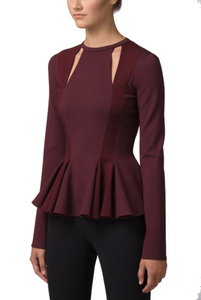 Alvin Valley Nouvel Peplum Blouse