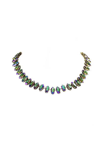 Realia Marquis Cut Necklace - Paradise In Brass