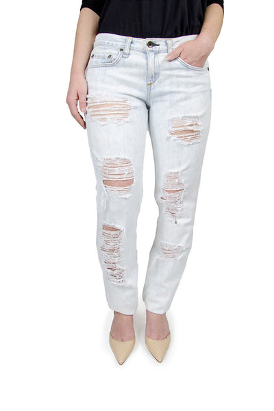 Rag & Bone Distressed Boyfriend Jean