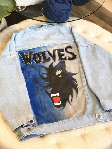 "One Posh Design ""Timberwolves"" Jacket"