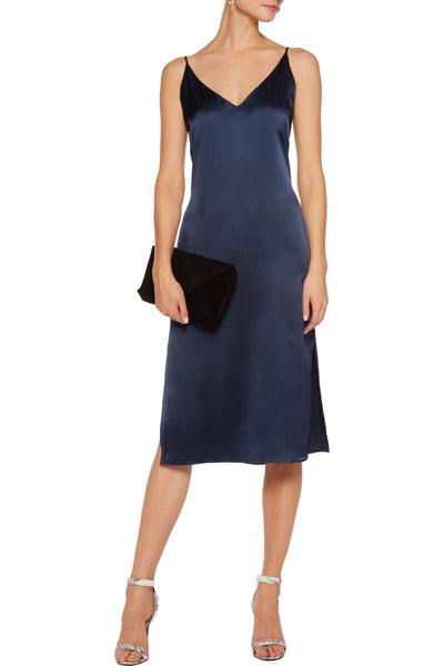W118 by Walter Baker 'Kendall' Navy Silk Dress