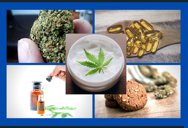 Common Types of CBD Products Kanna CBD
