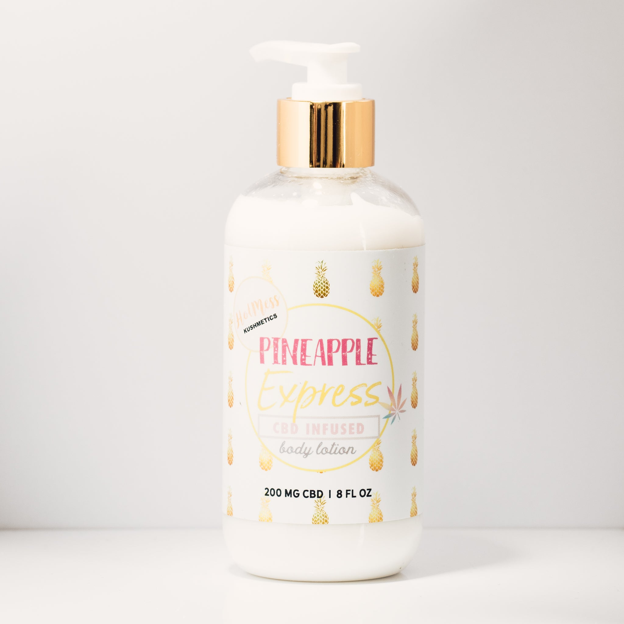 Hot Mess Kushmetics CBD Body Lotion