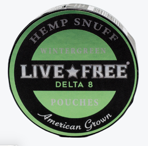 LiveFree Delta 8  Pouches