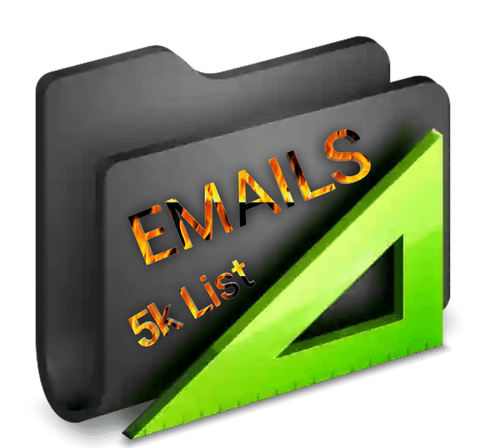5,000 Email List