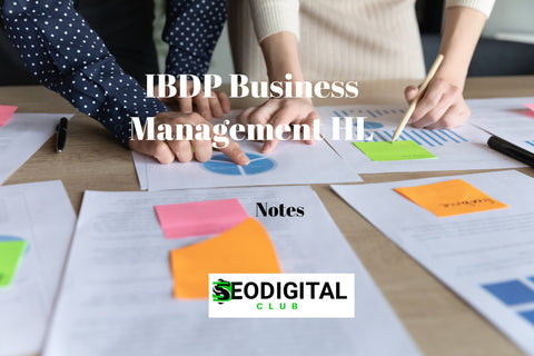 IBDP Business Management HL Notes