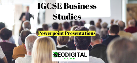 IGCSE Business Studies PPT