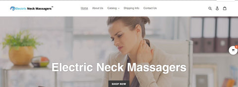 Website Purchase- Electric Neck Massagers