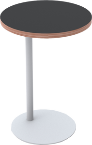 Flat Disc Laptop Table