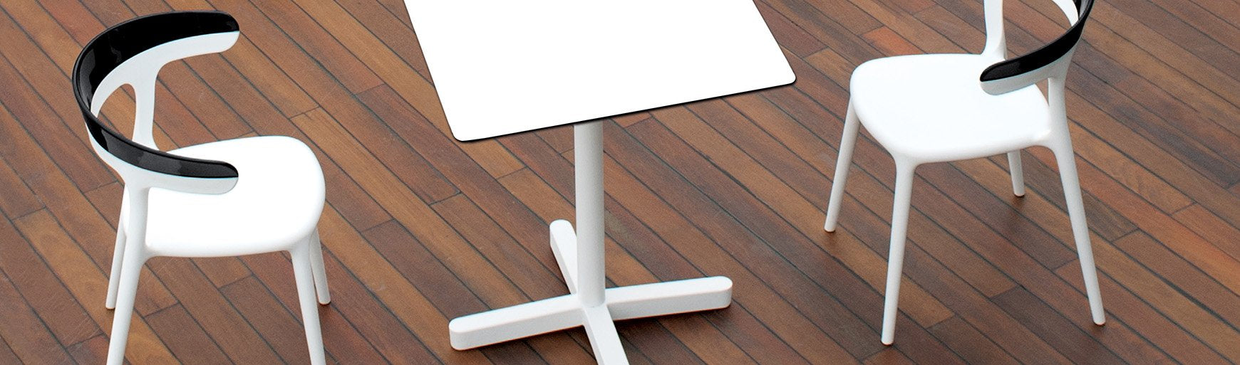 Spot Double Stem Table