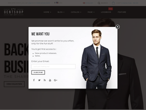 Modern Fashion Shopify Starter Dropship Ecommerce Website