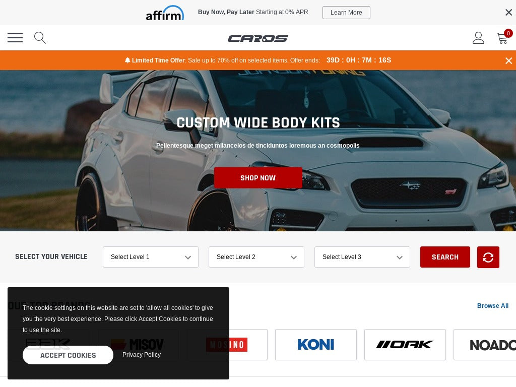 Auto Shopify Starter Dropship Ecommerce Website
