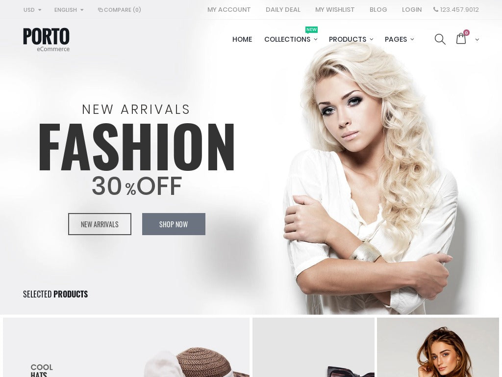 Fashion Shopify Starter Dropship Ecommerce Website