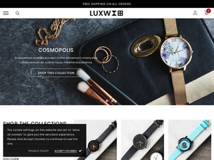 Watches Shopify Starter Dropship Ecommerce Website