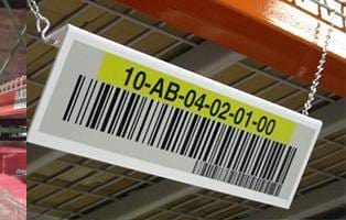 Warehouse Bulk Storage Location Signs - All Barcode Systems