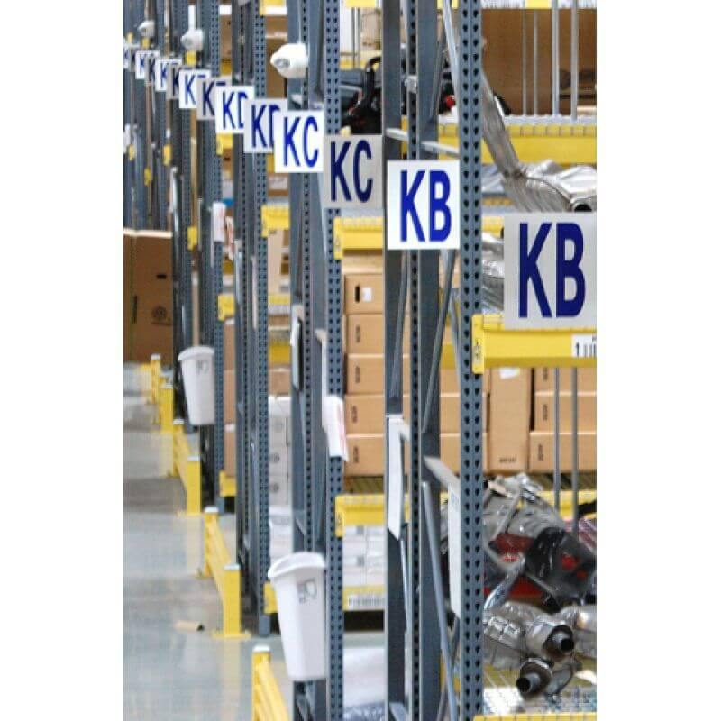 Aisle & Dock Door Signs - All Barcode Systems