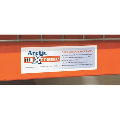 ID Label Arctic Xtreme Cold Storage Rack Labels - All Barcode Systems