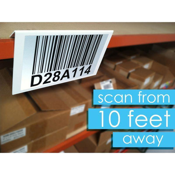 Warehouse Long Distance Reflective Labels - All Barcode Systems