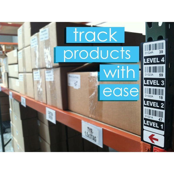 Warehouse Magnetic Shelf Labels - All Barcode Systems