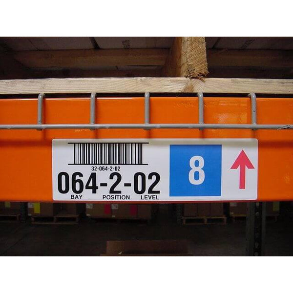Warehouse Pallet Rack Labels - All Barcode Systems