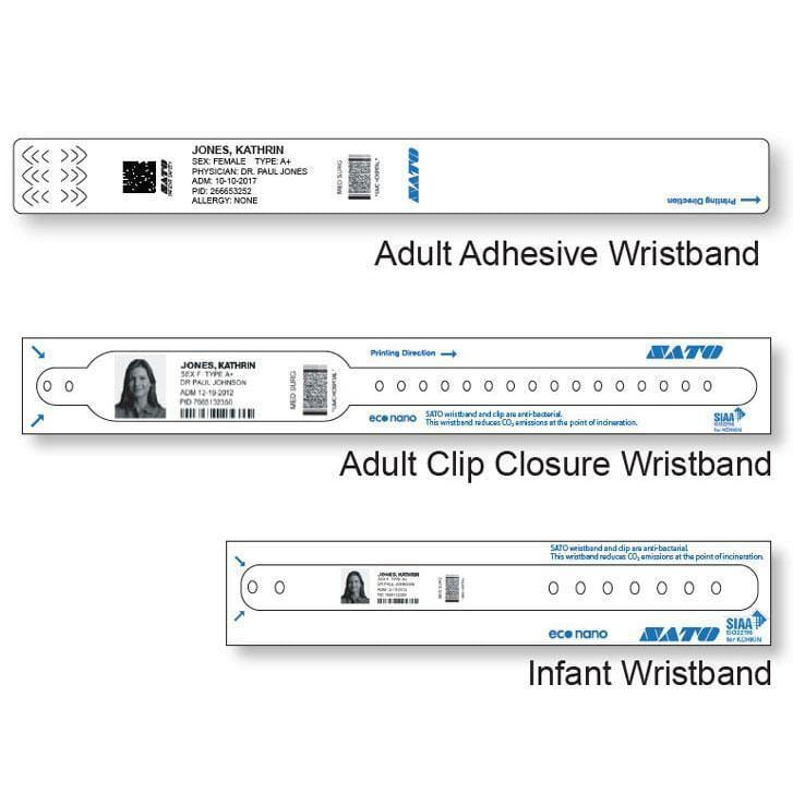 SATO SoftTouch Wristbands - All Barcode Systems