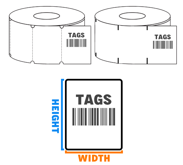 Thermal Tags - All Barcode Systems