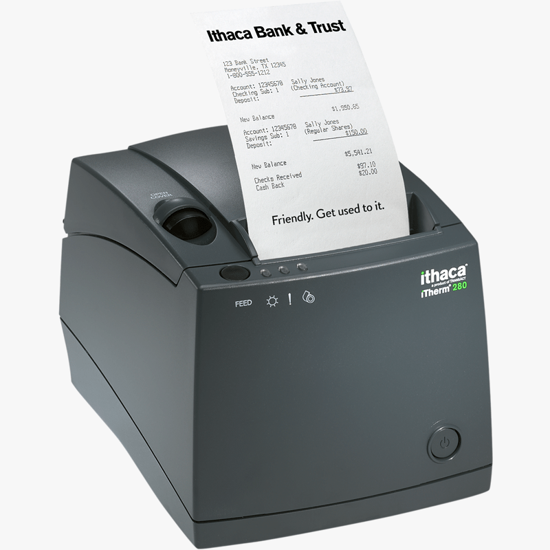 TransAct Ithaca 280 - All Barcode Systems