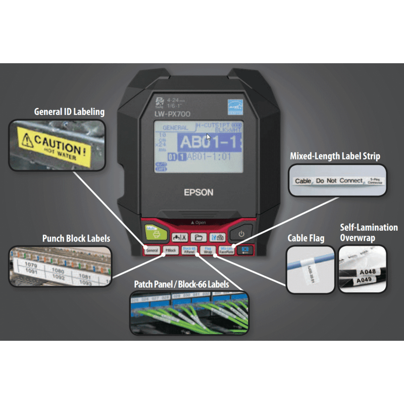 Epson / K-Sun LW-PX700 - All Barcode Systems